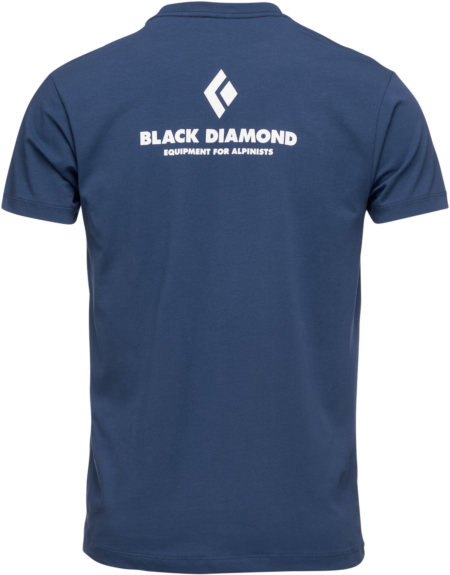 Black Diamond Equipment for Alpinist Maglietta a maniche corte Uomo, ink blue su Addnature ppwYF